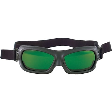 Anchor Brand® Vented Cup Stationary Cutting Welding Goggles, 5.0 Shade, Green, Hardened Glass Lens