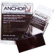 Anchor Brand® Filter Plate, 5 1/4 in (L) x 4 1/2 in (W), Green, #13 Shade