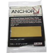 Anchor Brand® Filter Plate, 5 1/4 in (L) x 4 1/2 in (W), Gold, #9 Shade