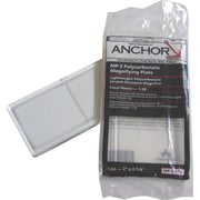 Anchor Brand® 4 1/4 in (L) x 2 in (W) Polycarbonate Magnifier Lenses