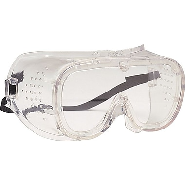 BASIC-DV™ 440 Safety Goggles, Clear/Clear, Polycarbonate Lens, Vinyl Frame