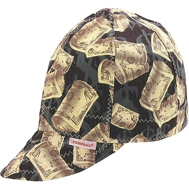 Comeaux® Single Sided Soft Brim Comfort Cotton Assorted Pattern Round Crown Cap, 7 in