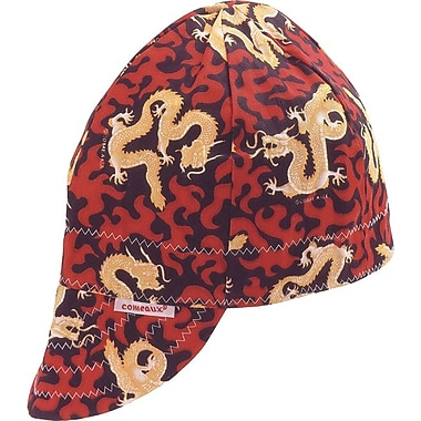 Comeaux® Reversible Soft Brim Comfort Cotton Assorted Pattern Round Crown Cap, 7 3/4 in