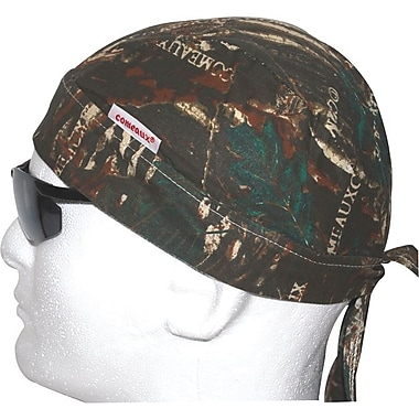 Comeaux® Cotton Round Bandana Doo Rag, Camouflage Pattern