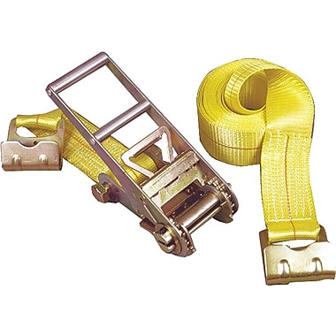 Keeper® Ratchet Tie-Down Strap, Flat Hook Style, 27 Feet (L) x 3 in (W), 5000 lbs.