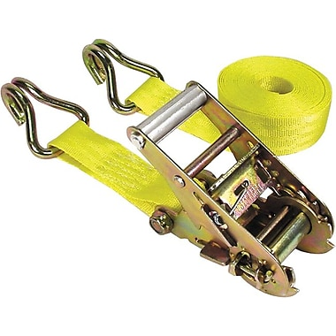 Keeper® Ratchet Tie-Down Strap, Double-J Hook Style, 15 Feet (L) x 1 3/4 in (W)