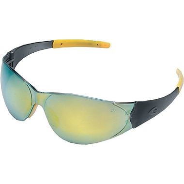 MCR Safety® ANSI Z87 Checkmate2 Crews Safety Glasses, Gray