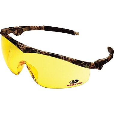 MCR Safety ANSI Z87.1 Mossy Oak® Safety Glasses, Indoor/Outdoor Clear Mirror