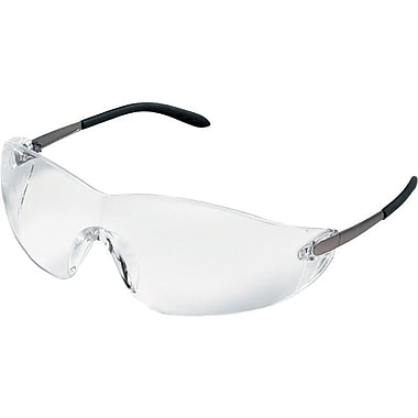 MCR Safety ANSI Z87.1 Blackjack® Protective Glasses, Gray