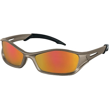 MCR Safety ANSI Z87.1 Tribal® Tattoo Safety Glasses, Fire Mirror