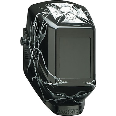 Jackson® HellRaiser™ NexGen® Series W60 Welding Helmet, 3.80 in (W) x 2.35 in (L) Window, #9 - 13 Shade