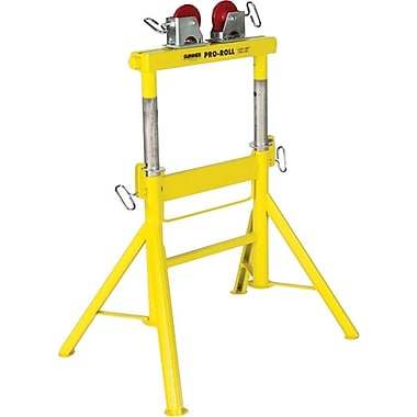 Sumner Pro Roll™ Adjustable Height Roller Stand, 29-43 in (H), 1/2-36 in Pipe Diameter, 2000 lbs.