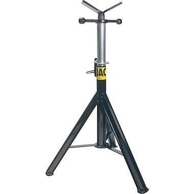 Sumner Pro Jack® ST-871 Professional Hi Jack Stand, Vee Head, 28-49 in (H), 1/8-36 in Pipe Diameter