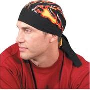 OccuNomix Tuff Nougies Regular Tie Hat, Cotton Wavy Flag Pattern