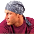 OccuNomix Tuff Nougies Deluxe Cotton Tie Hat, Jungle Camouflage Pattern