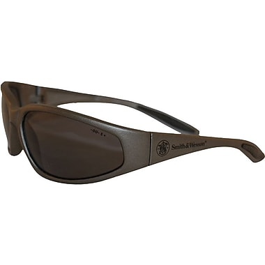 ViewMaster™ Scratch-Resistant ANSI Z87.1 Safety Glasses, Universal, Polarized Gray/Metallic Gray