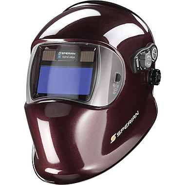 Optrel® Series E650 Welding Helmet, 2 in (W) x 4 in (L) Window, #9 - 13 Shade, Black Unpainted