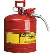 AccuFlow™ Type II, Flame Retardant, Wear Resistant Lead-Free Coated Steel Safety Can, 2.5 Gallon