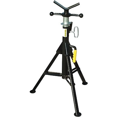 Sumner® Fold-A-Jack® Standard Hi Jack Stand, 28-49 in (H), 1 1/4-24 in Pipe Diameter, 2500 lbs.