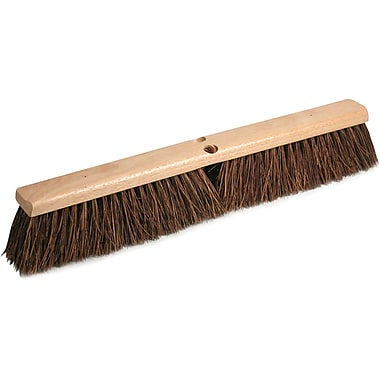 O'Dell Palmyra Fiber Floor Broom Head, 18in. Block