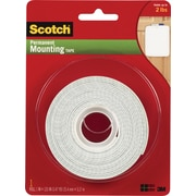 "Scotch® Permanent Mounting Tape, 1"" x 125"""