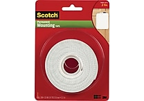 Scotch® Permanent Mounting Tape, 1' x 125'