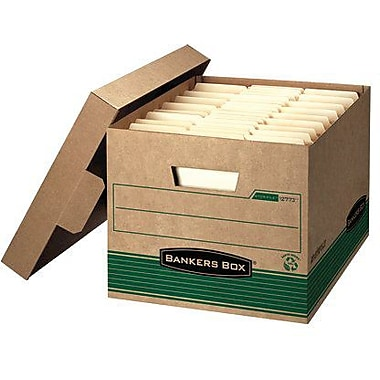 Bankers Box 100% Recycled Stor/File Medium-Duty Storage Box