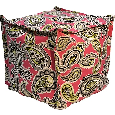 Elite Sit-E-Block Fabric Bean Bag Combination Stool/Ottoman, Majella Print