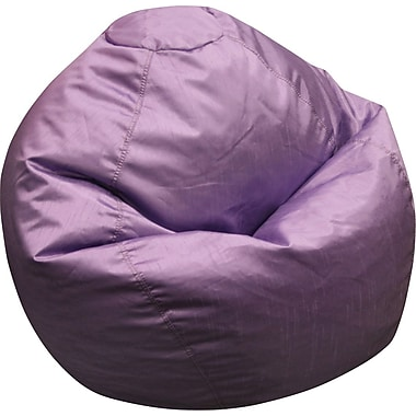 Elite Classic Medium Faux Silk Bean Bag Chair