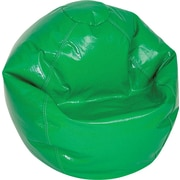 Elite Wetlook Junior Vinyl Bean Bag Chair, Green