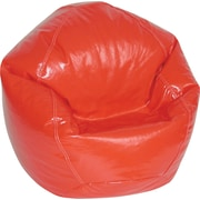 Elite Wetlook Junior Vinyl Beanbag Chair, Lipstick