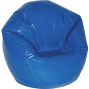 Elite Wetlook Junior Vinyl Bean Bag Chair, Blue