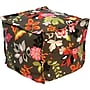 Elite Sit-E-Block Fabric Bean Bag Combination Stool/Ottoman,
