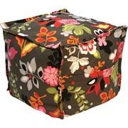 Elite Sit-E-Block Fabric Bean Bag Combination Stool/Ottoman, Clarise Print