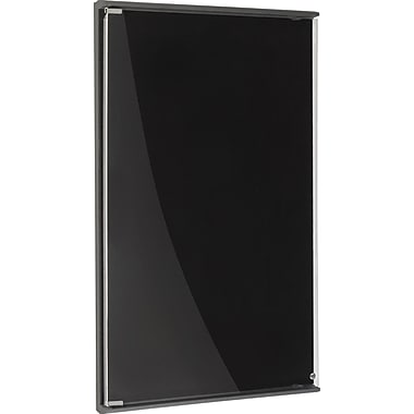 Iceberg Community Enclosed Board, Black, 24in. x 36in.