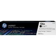 HP 126A Black Toner Cartridge (CE310AD), Twin Pack