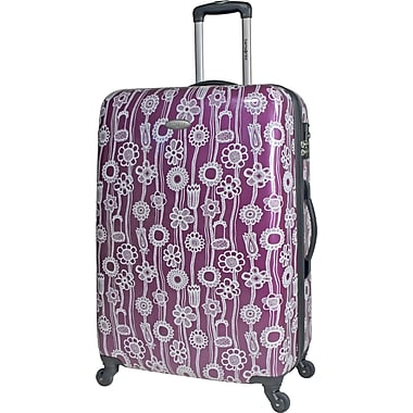 Samsonite 21in. Lightweight Lift Upright Expandable Hardside Spinner Luggage, Purple