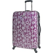 Samsonite 21 Lightweight Lift Upright Expandable Hardside Spinner Luggage, Purple