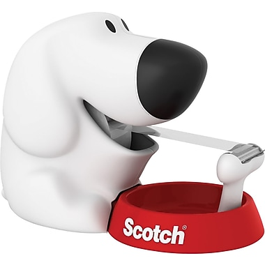 Scotch Dog Tape Dispenser with Scotch Magic Tape