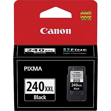Canon PG-240XXL Black Ink Cartridge, Extra High-Yield