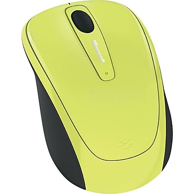 Microsoft Wireless Mobile Mouse 3500 (Citron Green Gloss)