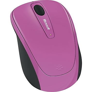 Microsoft Wireless Mobile Mouse 3500 (Dahlia Pink)