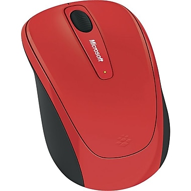 Microsoft Wireless Mobile Mouse 3500 (Red Flame Gloss)
