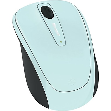 Microsoft Wireless Mobile Mouse 3500 (Aqua Blue Gloss)