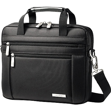 Samsonite Tablet and iPad Lightweight Shuttle, Black, 10.1in.