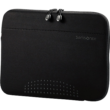 Samsonite Aramon Tablet Lightweight Sleeve,  Black, 10.1in.