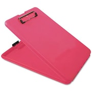"SlimMate, 9 X 12 paper size, 3/4"" capacity, low profile clip,  Pink"