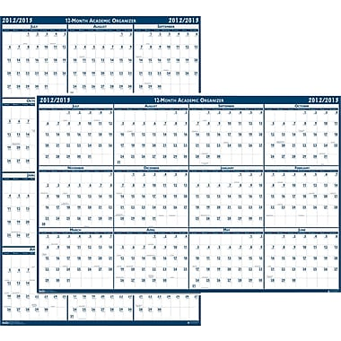 2013/2014 House Of Doolittle® Academic Laminated Wall Calendar, 18in. x 24in.