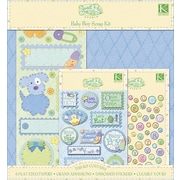 K&Company® Sweet Pea Scrapbook Kit, Baby Boy,  12 X 12