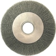ANDERSON® 6 in (OD) 1 in (W) Face DA Series Wire Wheel Brush, 0.0118 in Wire, CS